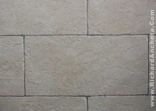 Tile Design With Semi Rough Textures Sample Presentation Faux Fini Bricks Arch Meval Stone Wall