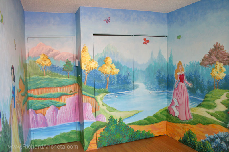 Disney princess wall murals hot girls wallpaper for Disney princess wall mural