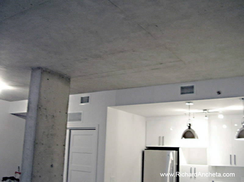 Concrete Decorative Painting Faux Finish On Ceiling