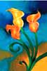 Calla Lily oil painting.