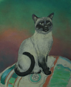 Cat Painting Stage 7
